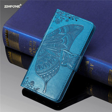 For iphone 7 Plus Case phone Leather Flip Cover Wallet Butterfly Holder Flowers for iPhone 8 Plus Cases Cover Luxury Coque Capa цена 2017