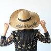 Novia a ser sombreros de sol de verano Aloha playas sombreros de paja decoración Tropical Hawaiano fiesta decoración adulto despedida de soltera fiesta suministros