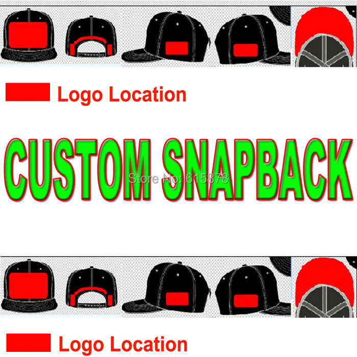021bb432 Custom 3D Embroidery Logo Snapback Caps Hats With Printting Seam  Taping,Woven Label,Sticker Wholesale Free Shipping-in Men's Baseball Caps  from Apparel ...