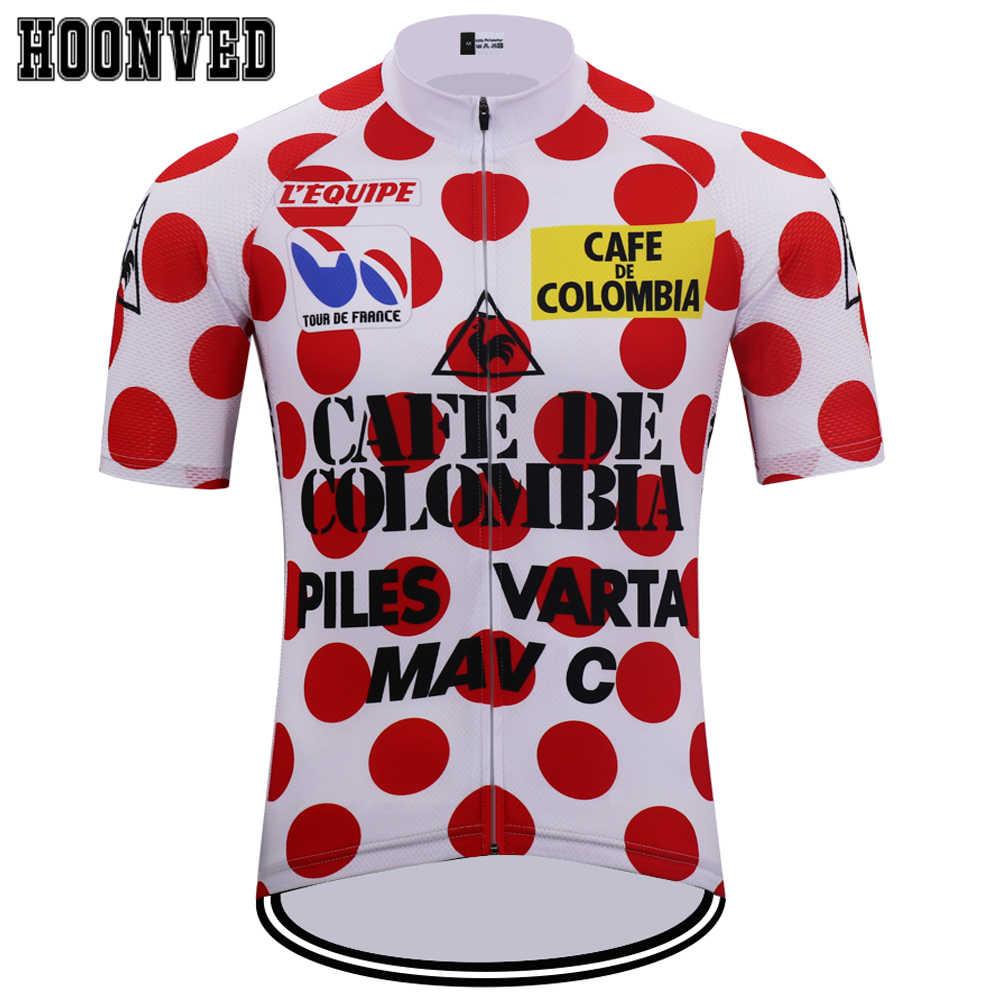 1c74042de 1985 year The Tour de France Man 81 Champion Retro Gobik Cycling Jersey  Short Sleeves Triathlon