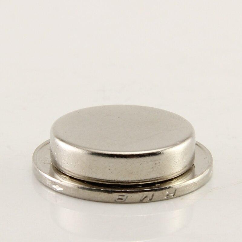 2pcs Strong Disc Magnets Dia 20x5mm N50 Rare Earth Neodymium Magnet 20*5mm earth 2 vol 5