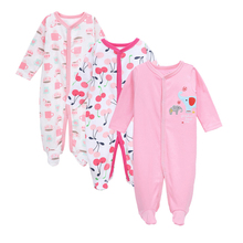 Toddler Baby Rompers Spring Baby Girl Clothes Cotton Baby Boy Clothing Fashion Newborn Baby Clothes Roupas Bebe Infant Jumpsuits