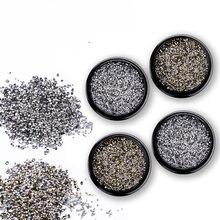 Micro taladro de arena de cristal, superllamativas, Storm de Nueva York, Diamante completo, pistola negra, oro, para Resina UV, molde epoxi, decoración