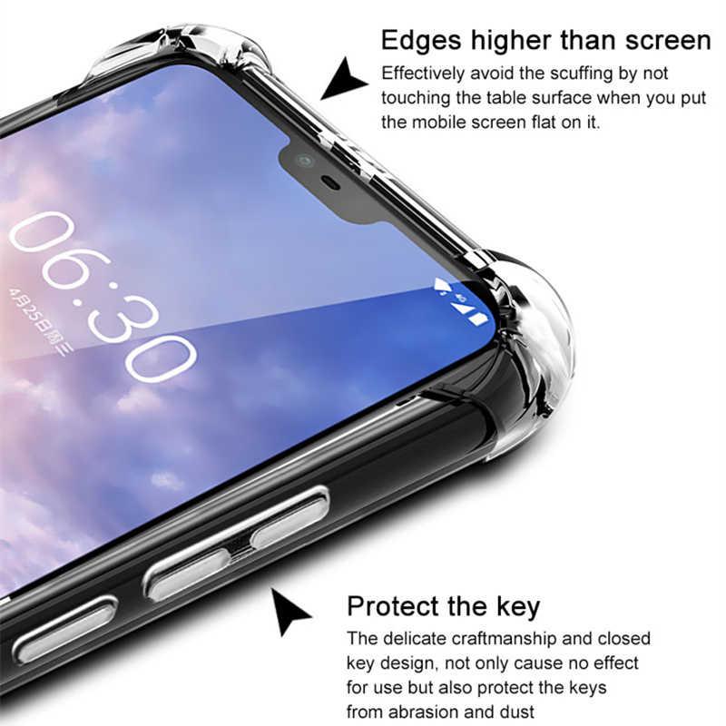 Cherie Dành Cho Nokia 7 Plus Trong Suốt TPU Dành Cho Nokia X71 X7 7.1 6.1 5.1 8.1 3.1 Plus 4.2 3.2 2.1 Funda
