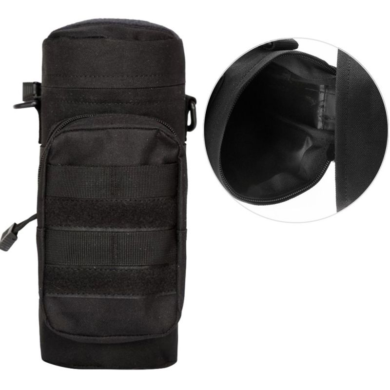 Water Bottle Pouch Utility Medic Pouch Kettle Package Hunting Outdoor Travel Bag