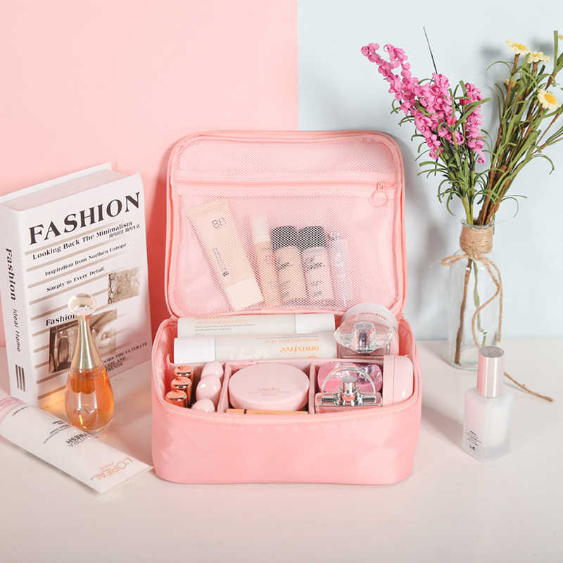 c4b8940957ff Hylhexyr Girl Makeup Bag Women Cosmetic Bag Wash Toiletry Make Up Organizer  Travel Kit Bags Multifunction Ladies Pouch Case