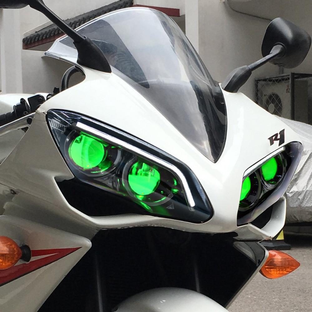 Image 4 - KT LED Headlight for Yamaha YZF R1 2007 2008    -