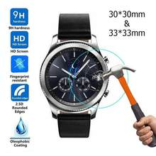 Watch Screen Protective Films for Samsung Galaxy Watch 42/46mm 2pcs/pack Tempered Glass Screen Protector wearable device(China)