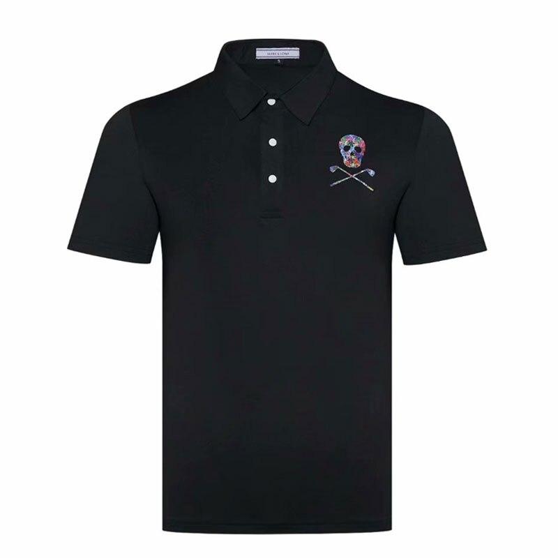 Chemise de Golf Cooyute dernière marque printemps été. T-Shirt de sport de Golf LONA manches courtes anti-boulochage T-Shirt de Golf court livraison gratuite