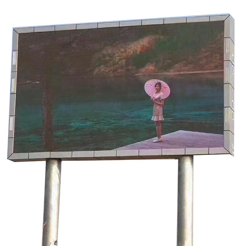 P5 P6 P8 P10 Full Color Smd Hd Video Display Outdoor Electronic Advertising Board