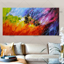 цена 100% Hand Painted Oil Painting Modern Abstract Oil Painting On Canvas Wall Art abstract Picture For Living Room Hotel Decor Gift