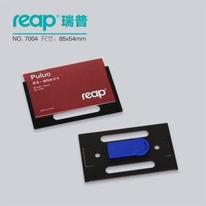 Image 2 - 10 pcs/1 lot reap7004 abs 90*54mm 자기 이름 태그 배지 홀더 자석 배지 카드 id 홀더 작업 직원 카드