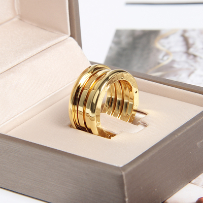 High quality fashion titanium steel jewelry ring couples of men and women ring