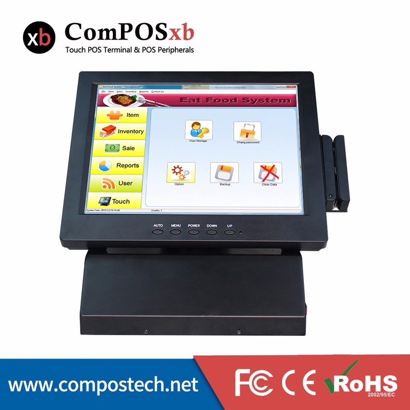 Point Of Sale POS 12 Inch Touch Screen All In One PC Commercial POS System Wholesale Price point of sale pos system windows 7 test version 5 inch tft lcd touch screen all in one pos pc for restaurant