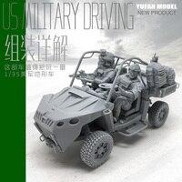 Original 1/35 US Army Terrain Vehicle Installation Guide YFWW35 1820