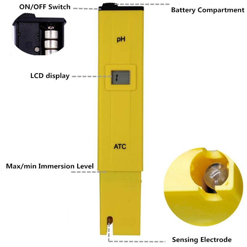 PH-009 PH Meter Tester di qualità dell'acqua Tester di acidità - Strumenti di misura - Fotografia 2