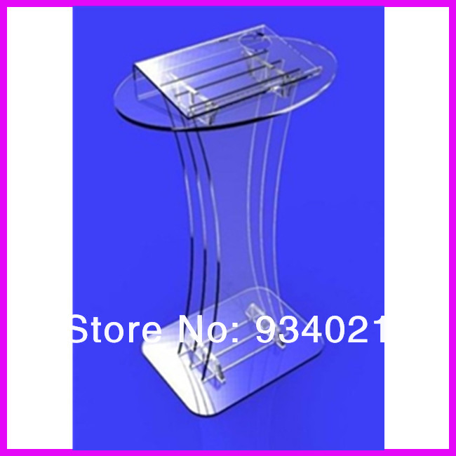 free shipping Hot! Classroom Multimedia Teaching Acrylic Lectern church pulpit купить