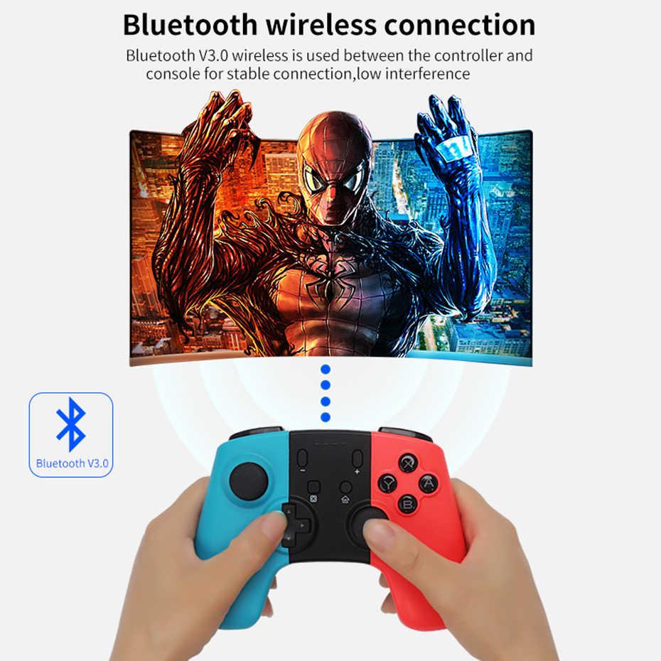 Sovawin Bluetooth Вибрационный беспроводной контроллер Joypad для Nod переключатель перезаряжаемая ручка пульт дистанционного управления геймпад Pro джойстик ПК 360
