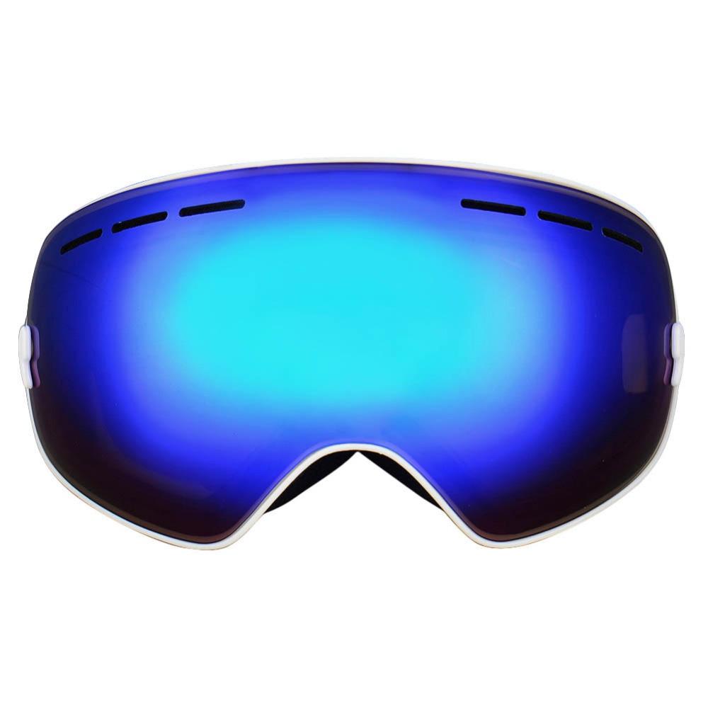 Prix pour 1 pc Gog-201 Double sphérique hiver ski lunettes anti-brouillard professionnel snowboard ski lunettes ski lunettes polarisées homme wholewsae