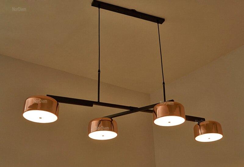 Oro Modern Led Lampadario Illuminazione Per Sala Da Pranzo Luci ...