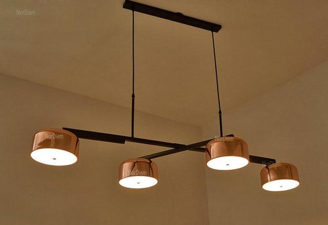 Online Shop Oro moderno lampadario Lampada LED Luce per sala da ...