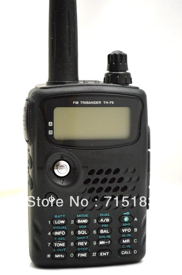 100% Фирменная Новинка th f6a fm tribander 144/220/440 мГц компактный трансивер/приемник