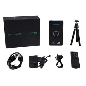 Image 5 - תמיכת 4K 1080P מלא HD וידאו נייד מיני dlp מקרן wifi Airplay 2GB RAM אנדרואיד Touyinger S9 HDMI USB Bluetooth Miracast