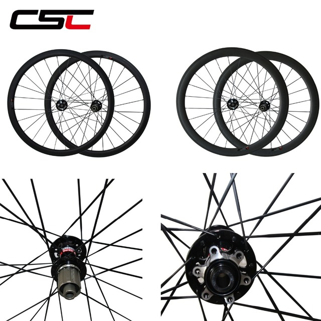 Disc Brake Wheels Cyclocross Wheelset 24mm 38mm 50mm 60mm 88mm Carbon Clincher Tubular Carbon Bicycle Disc Wheelset U Shape