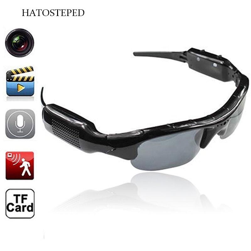 1080 p HD מקוטב-עדשות משקפי שמש מצלמה חיצוני ספורט וידאו מקליט ספורט משקפי שמש מצלמת וידאו Eyewear וידאו מקליט