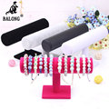 1pc Velvet Jewelry Bracelet Display Stand Bracelet Chain Watch Holder Rack Jewelry Organizer Show Stand Display Shelf