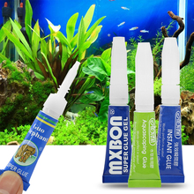 1/3 шт Многоцелевой 4 типа аквариумный мох клей водное растение Коралл мгновенный клей украшения закреплены под водой