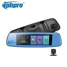 видеорегистратор 4G андроид wifi блютуз ADAS зеркало заднего вида с видеорегистратором и камера FHD 1080P Автомобильный навигатор dvr gps видеорегистраторы автомобильные RAM 1GB ROM 16GB 7.84″ потрогать