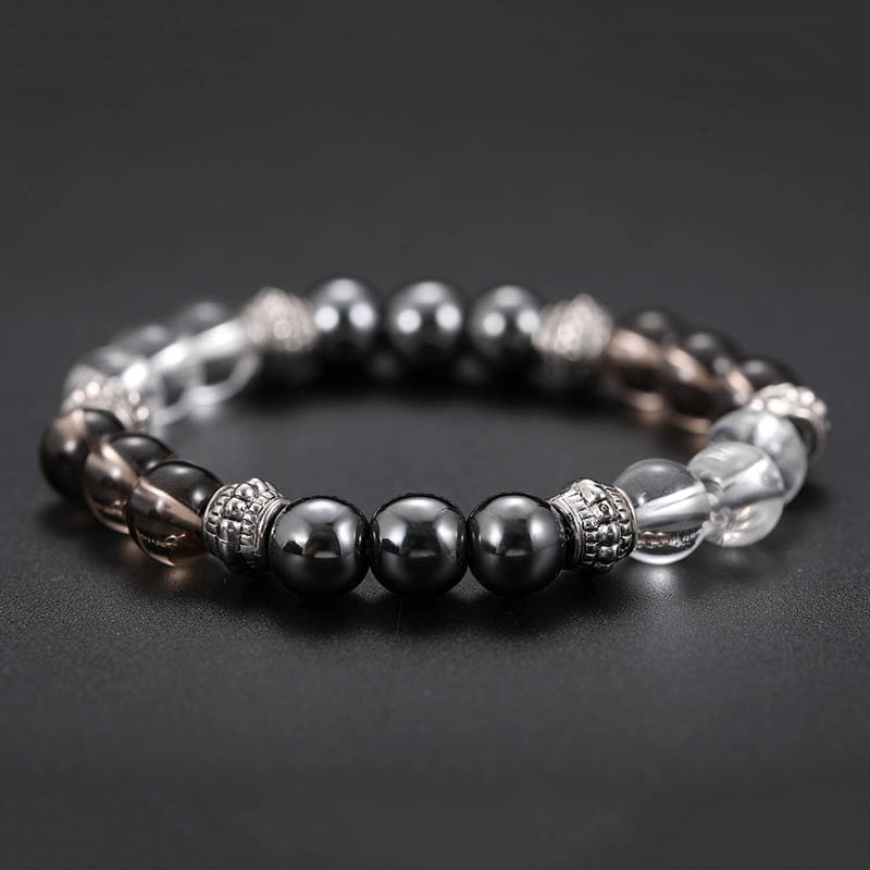 Buy Cheap Magnetic therapy slimming Bracelet Round Black Stone