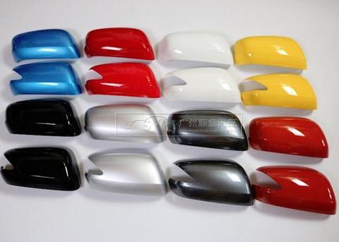 para honda fit 2009 2013 1 pc porta lateral do carro espelho retrovisor luz buraco
