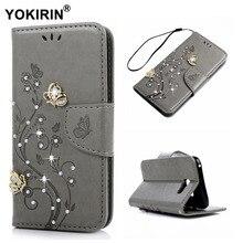 YOKIRIN горный хрусталь кошелек чехол для Samsung Galaxy A5 2017 A520 A520F A5200 Bling Diamond кожаный чехол для телефона Samsung A5 2017