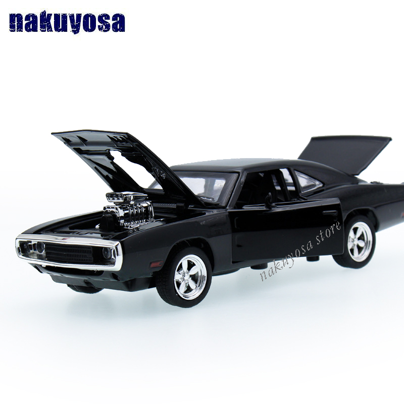 132 kids toys fast furious 7 dodge charger metal toy cars model pull