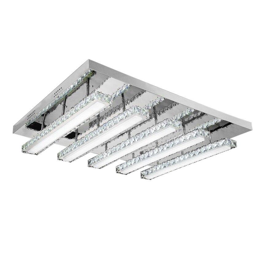 Modern Minimalist Crystal LED Ceiling Light For Living Room Dining Low Voltage Led Lights