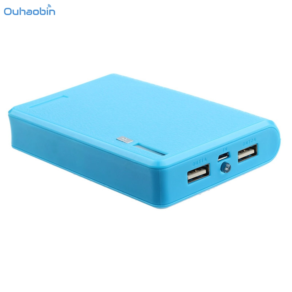 Ouhaobin Accessories & Parts USB 5V 2A 18650 Power Bank Battery Box Charger For Smartphone Iphone Battery Case Holder Nov28