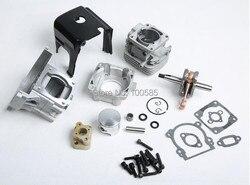 1/5 Rovan 4 bolt 32cc Engine kit fit 1/5 hpi km rv baja 5b 32CC Engine parts Free Shipping 85252