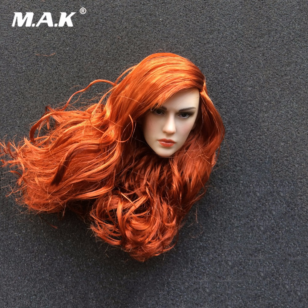 1:6 Scale TBLeague PL2016-93 Red Sonja 2.0 Woman Head for 12 Action Figure Collection Doll Toys Gift 1 6 scale figure doll head shape for 12 action figure doll accessories breaking bad jesse pinkman figure male head carved