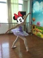 Profesyonel Tutuş Pembe kızlar Için Bale Kostüm Çocuklar Bale Giyim Sahne Dans Giymek