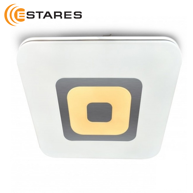 Controlável lâmpada LED QUADRON 72 W S-450-WHITE-220-IP44 Estares DUPLA INTELIGENTE