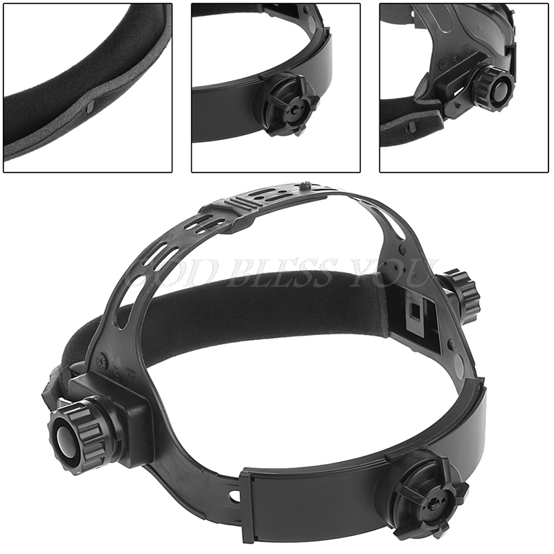 New Adjustable Welding Welder Mask Headband Solar Auto Dark Helmet Accessories