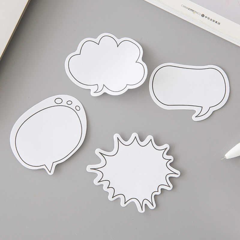 Милый Dialog N Times блокнот Липкие заметки милый облачный пост Закладка канцелярская этикетка стикеры школьные принадлежности блокнот escolar