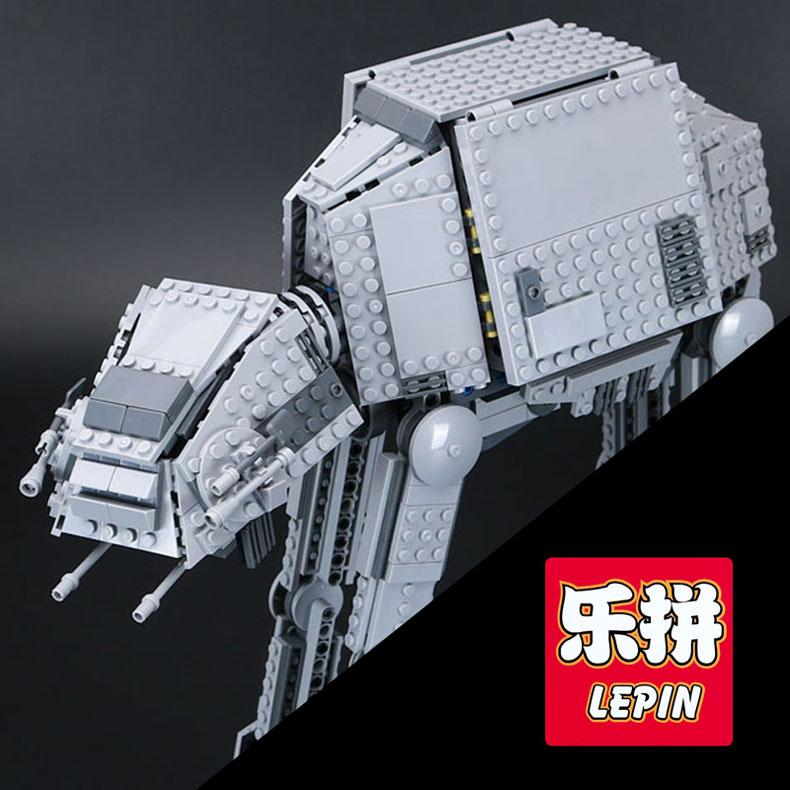 лепин 05051 звезда серии игрушки войны силы пробудить в модели при транспортировке 75054 бронированный робот строительный блоки кирпичи игрушки