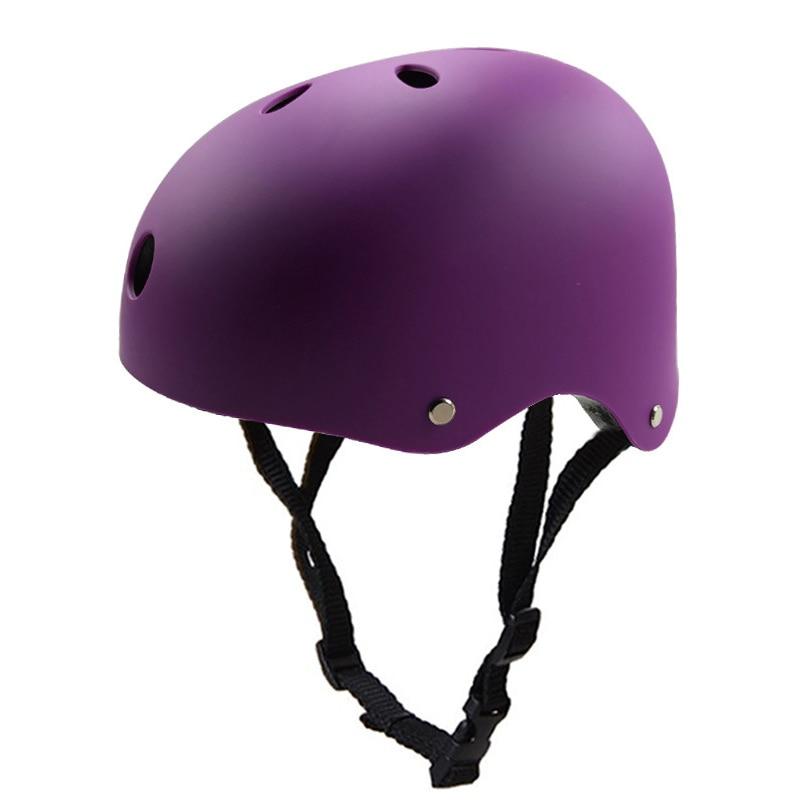 2018 Adult Skateboard Helmet Adjustable Straps Protective Skiing Skate Bike Cycling Helmet Multi Color with Liner for Bicycle