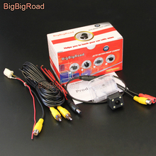 BigBigRoad Car Rear View Parking Camera For Mazda CX-5 CX 5 CX5 2013 2014 with 4 Pins adapter Original Monitor Compatible
