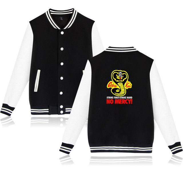 COBRA KAI THEMED BASEBALL JACKET (16 VARIAN)
