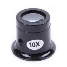 Hot Watch Repair Tool Eye Loupe Jewelry Optical Loop 10X Magnifier Magnifying Glass YL66 Eyes Care Protect Body Health