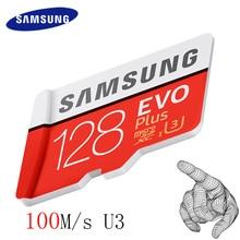 SAMSUNG 100Mb/s Memory Card 128GB 64GB 32GB Micro SD Card Class10 U3 U1 4K Microsd Flash TF Card for Phone Computer SDHC SDXC